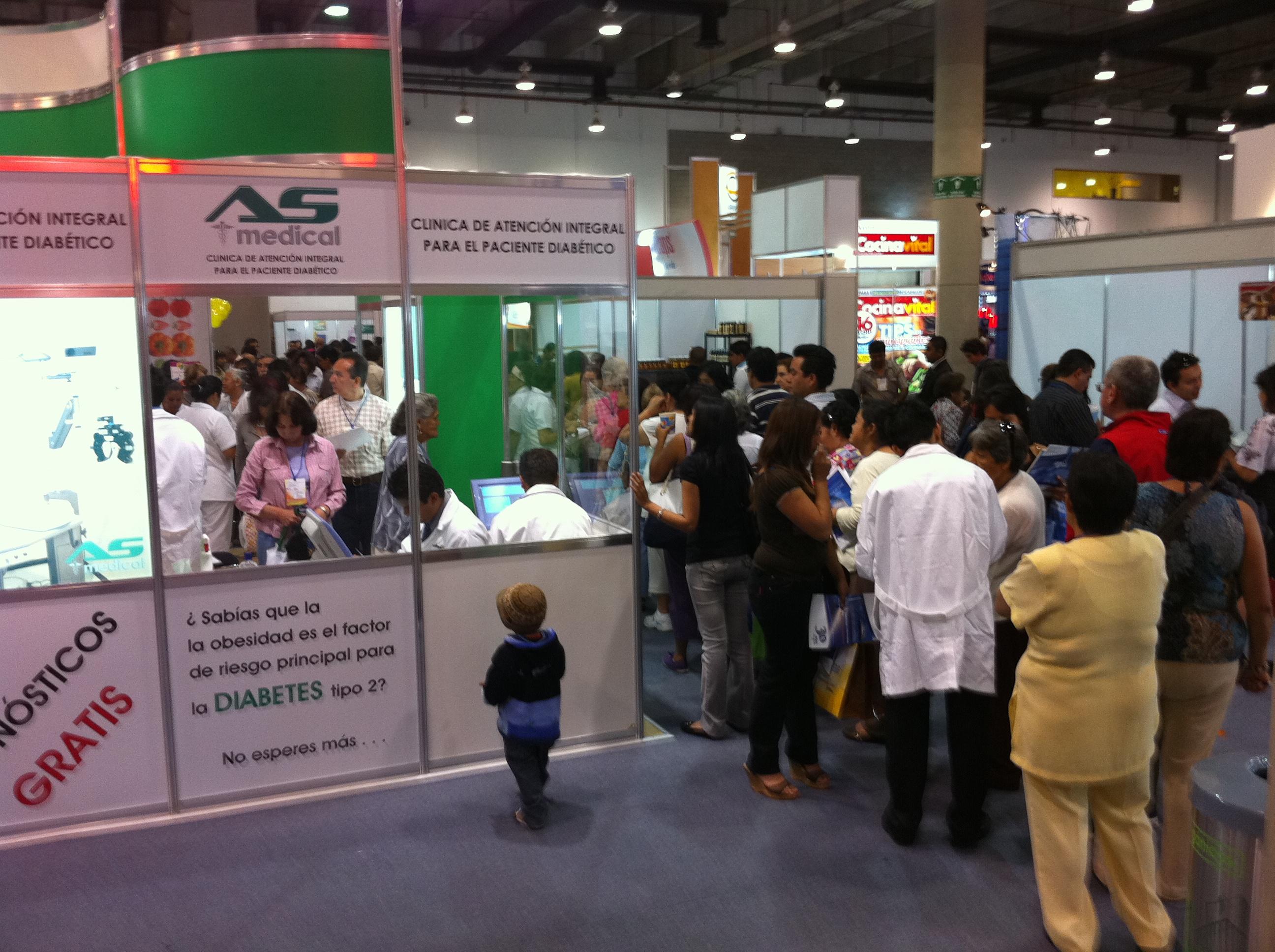 """EZSCAN at the """"Expocumbre Mundial de Diabetes, obesidad"""
