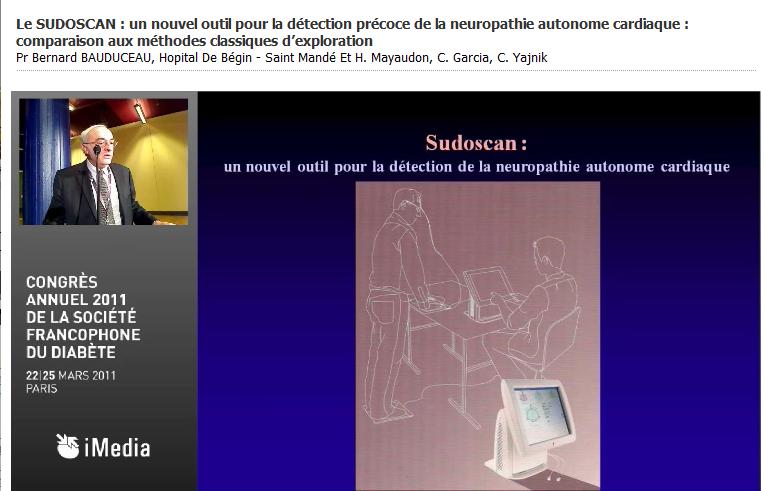Impeto Medical au congrès de la SFD 2011 (Société Francophone du Diabète)