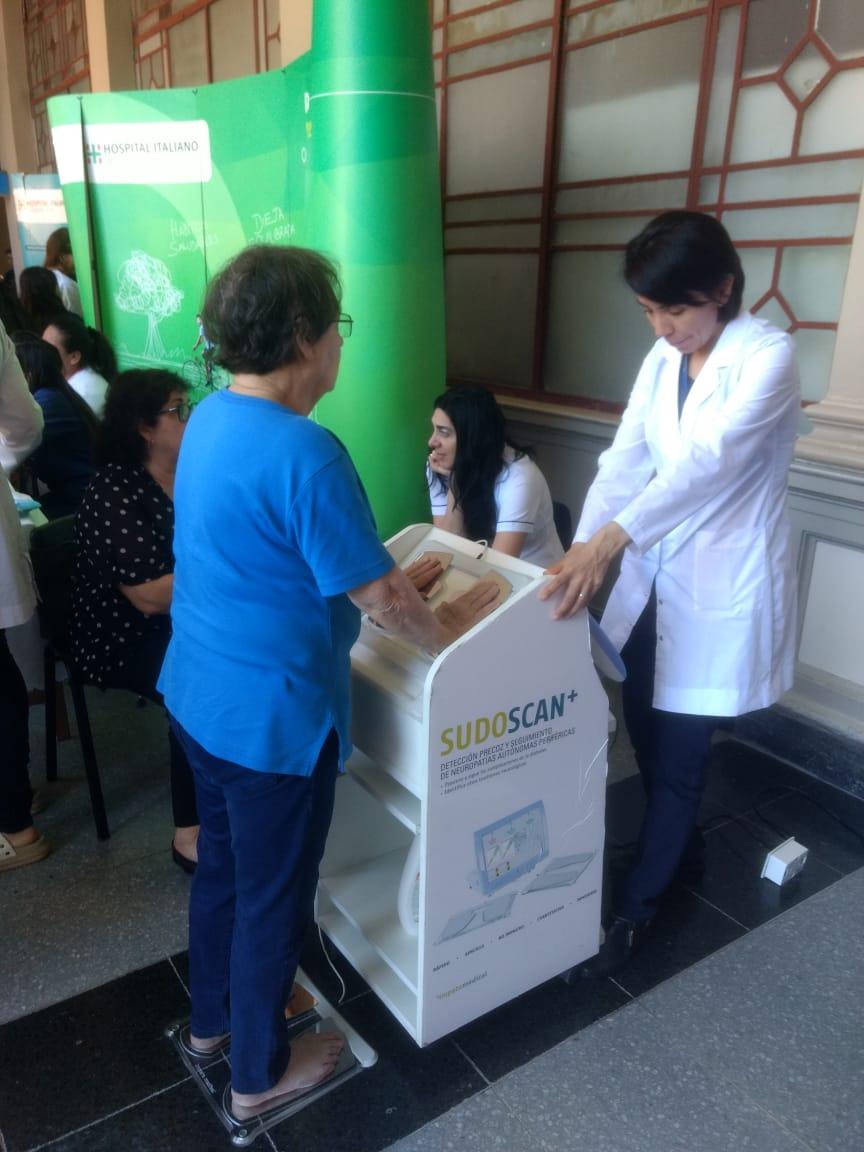 SUDOSCAN at World Diabetes Day 2018 – Buenos Aires