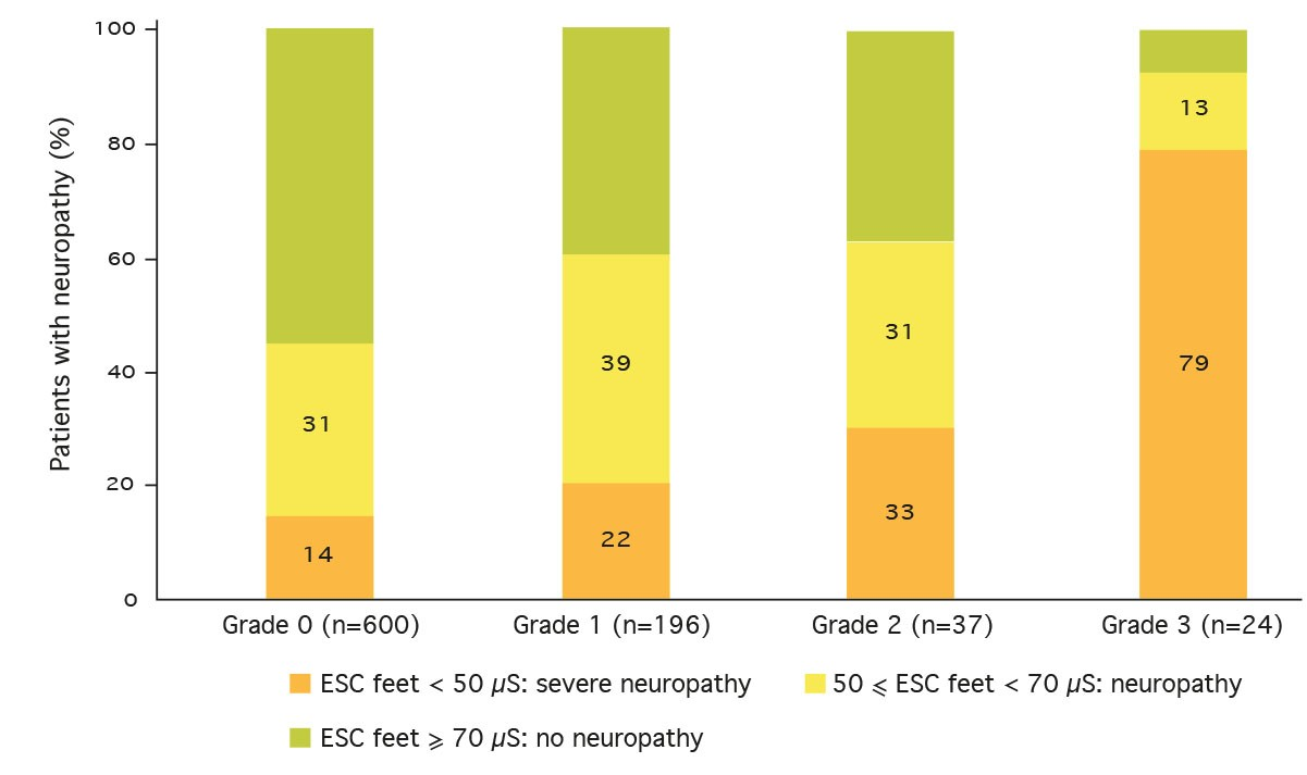 SUDOSCAN IN DIABETOLOGY: DIABETIC FOOT RISK DETECTION